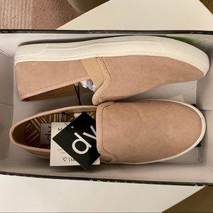 Blush Pink DV Slip On Sneakers